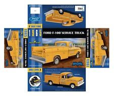 Moebius 1965 Ford F-100 Service Utility Bed 1/25 Truck MODEL CAR MOUNTAIN Now