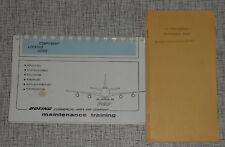 aviation manuals literature for boeing ebay rh ebay com boeing 747 maintenance manual download
