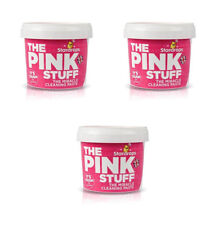 3 x THE PINK STUFF MIRACLE CLEANING PASTE 500g STARDROPS RECOMMEND BY MRS HINCH