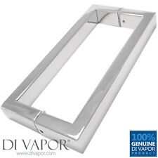 175mm Shower Door Handle (17.5cm Hole to Hole) - Stainless Steel