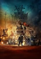 MAD MAX; FURY ROAD Movie PHOTO Print POSTER Textless Film Art George Miller 011
