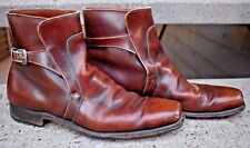 BEAUTIFUL RARE AND VINTAGE EDDIE BAUER EXPEDITION OUTFITTER LEATHER BOOT SIZE 9A