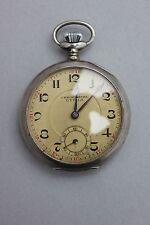 Silberne Taschenuhr Chronometre Utilia
