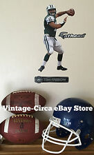 *RARE* TIM TEBOW FATHEAD - New York Jets NFL Wall Decal Poster Sticker 10 x 16.5