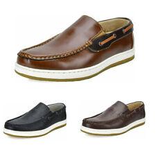 Men's Slip On Loafer Shoes Lightweight Casual Moccasins Boat Shoes