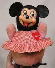 Vintage Disney Minnie Mouse Plush Toy Gund