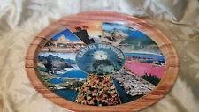 Vintage Carmel / Monterey Oblong Tin Tray Souvenir Serving Tray Collectible