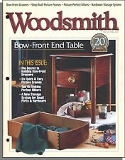 Woodsmith - 1999, February - Bow-Front End Table, Six Quick, Easy Picture Frames