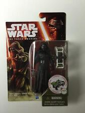 "NEW STAR WARS FORCE AWAKENS 3.75"" FIGURE KYLO REN FOREST MISSION B3446 HASBRO"