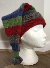PACHAMAMITA HAND KNITTED IN PERU Kids 3+ 100% Wool Quirky Winter Bobble Hat