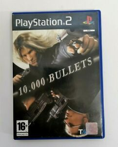 10000 Bullets VERY RARE Complete Sony PlayStation 2 PS2 Game FREE P&P