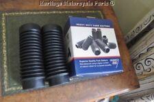 Resistente Caucho Negro GUARDAPOLVOS para HORQUILLA BSA B25 C25 B44 A65