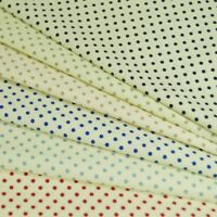 100% Poplin Cotton Fabric Rose & Hubble 3mm Polka Dots Spots