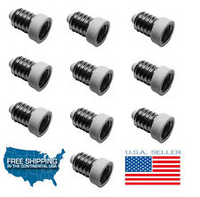10 Pack European Base (E14) to Candelabra Base (E12) Socket Reducer Adapter 10PC