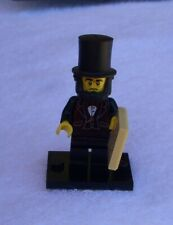 Lego Minifigure-The Lego Movie Set #71004-Abraham Lincoln-Complete Very Good