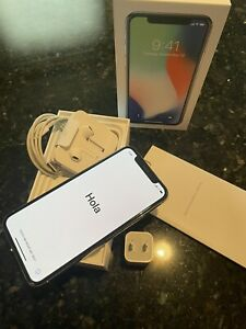 Apple iPhone X - 64GB - Silver - Excellent - Verizon - Fast FREE Shipping