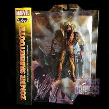 Marvel Select ZOMBIE SABRETOOTH Action Figure X-MEN Diamond Select Toys ERROR!