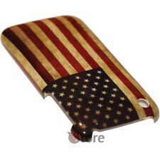 Cover Custodia Per iPhone 3G/3GS Bandiera America Retro Americana + Pellicola