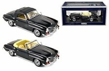 NOREV 1:18 1957 MERCEDES-BENZ 190 SL Diecast Car Black