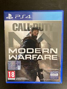 Call of duty modern warfare ps4 - COD MW ITA Come Nuovo