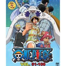 ONE PIECE Vol.51-100 Box Set Wan Pisu Pirate King Anime DVD
