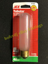 ACE Tubular 40 Watt Frosted T10 Light Bulb for Applinaces Aquariums Pictures