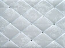 Laura Ashley Josette Dove Grey - Large Fabric Notice Board/Memo Board