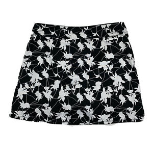Tranquility Colorado Clothing Women Small Running Skort Floral Black White