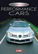 Great Performance Cars (New DVD 2010) Maserati Ferrari Lamborghini McLaren VW