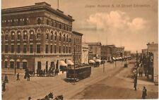 Postcard Canada Jasper Avenue & 1st Street Edmonton Alberta