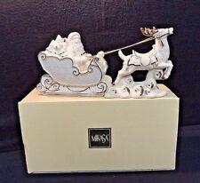 Mikasa Holiday Elegance Porcelain Santa with Sleigh FK001/900 W/ Original Box