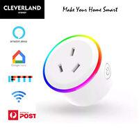 AU Smart home Wifi Plug Socket Switch Outlet Adaptor remote Alexa Google home