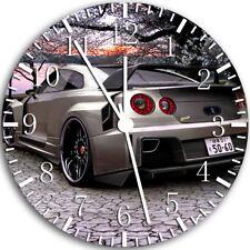 Nissan GTR Frameless Borderless Wall Clock Nice For Gifts or Decor W39