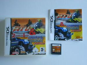 ATV & MONSTER TRUCKS MAYHEM  * NINTENDO GAME DS / DS LITE / DSi 100% GENUINE