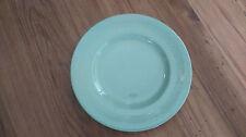 Vintage 1940s Woods Ware Utility China 21cm Tea Dessert Plate - Beryl - Green