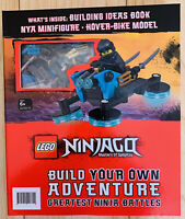 Lego Ninjago Masters Of Spinjitzu Build Your Own Adventure Book Minifigure NEW