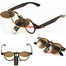 Metal & Plastic Frame Round 100% UV400 Sunglasses for Women