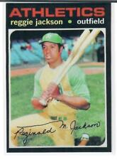 REGGIE JACKSON 1971 TOPPS REPRINT!! THIS IS A BEAUTY!!  NMT-MT