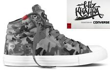 Wiz Khalifa's Converse All Stars Men's 6 Grey Camo Shoes Women's 8 Taylor's