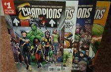 Marvel Comics- Champions #1-27 Comic Book Complete Run Lot 2017/2018