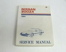 Nissan 300zx 1984 Service Manual Maintenance And Repair Procedures
