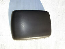1999-2001 Nissan Xterra Frontier center console lid dark gray with latch & hinge