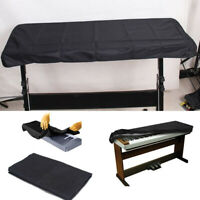 Black Keyboard Dust Cover for 61 Key Piano Storage waterproof On Stage CMT