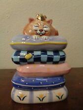 Gary Patterson Clay Design Royal Highness 3D Cat Treat Jar