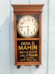 Antique Sessions Clock Orda D. Mahin Watch Clock Jewelry Repair Richmond Indiana