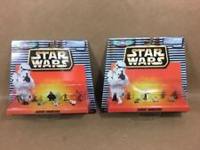 Star Wars Micro Machines Classic Characters LOT of 2 different sets Galoob 1996