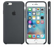 2018 CHARCOAL GRAY NEW GENUINE ORIGINAL Apple Silicone Case for iPhone 6S NEW