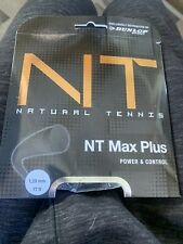 Dunlop NT Max Plus 17G Tennis String Black (   )