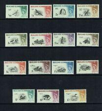 Falkland Islands: 1960, Birds definitive, complete set to £1, Mint VLH
