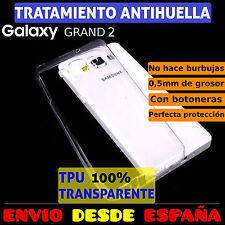 FUNDA TPU DE GEL SILICONA PARA SAMSUNG GALAXY GRAND 2 G7105 CARCASA PLASTICO